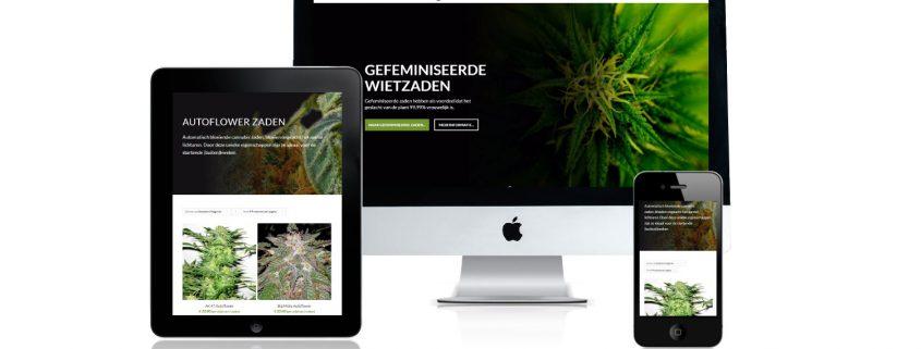 Nieuwe website / webshop online