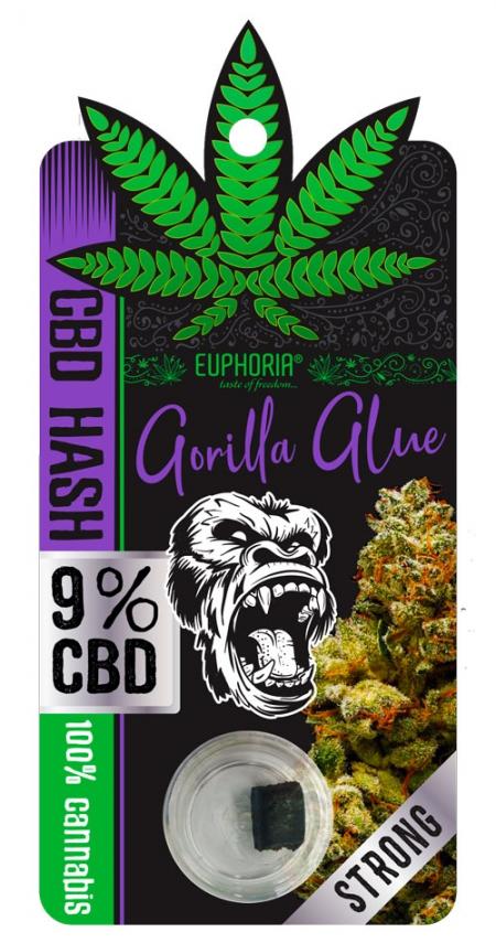 Gorilla Glue | CBD Hash
