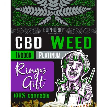 Ringos Gift | CBD Wiet Platinum Indoor