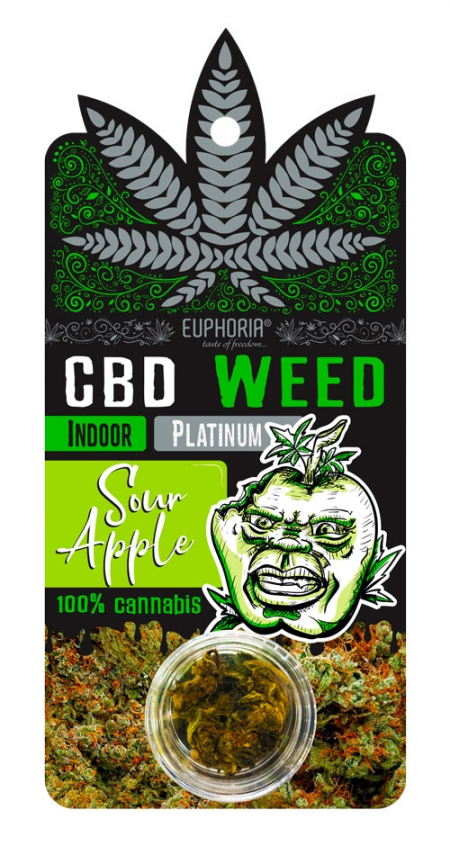 Sour Apple | CBD Wiet Platinum Indoor (kopie)